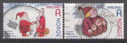 Norvège Mi.nr.:1800-1801 Weihnachten 2012 OBLITÉRÉS / USED / GESTEMPELD - Usados