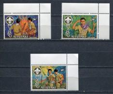 AITUTAKI 1983 * MI # 460 - 462 * SCOUTING YEAR *  MNH - Aitutaki