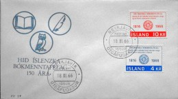 Iceland 1966   Minr.406-07  FDC    ( Lot  629 ) - FDC