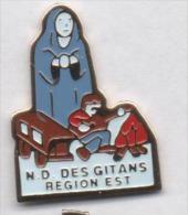 Notre Dame Des Gitans , Région Est , Gitan , Manouche , Rom , Tzigane , Gens Du Voyage - Villes