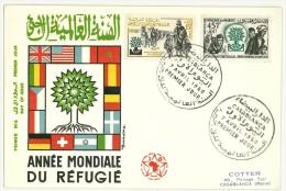 MAROCCO - ANNO MONDIALE DEL RIFUGIATO - ANNO 1960 - FDC - 1960 World Refugee Year - Refugees