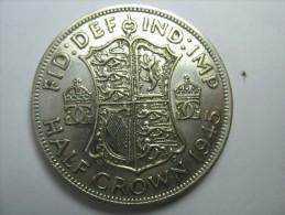 CANADA  HALF DOLLAR 50 CENTS SILVER  COIN 1945 LOT 12 NUM 2 - Canada