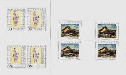 2 Blocs De 4 Timbres Art 2006 Neufs YT 472/473  / 2 Sheets Art 2006 Mint Mi 544/545 - Blokken & Velletjes