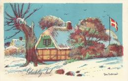 Christmas  Card    Denmark  S-1139 - Noël