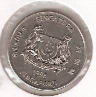 *singapore 20 Cents 1996  Km 101  Unc - Singapour