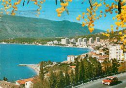 Igalo, Montenegro Postcard Used Posted To UK 19777 Nice Stamp - Montenegro
