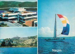 Neum, Bosnia Postcard Used Posted To UK 1986 Nice Stamp - Bosnia And Herzegovina