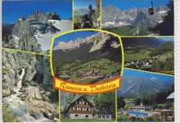 RAMSAU / Dachstein - Mehrbildkarte M. Silberkarklam. Steinerne Jungfrau, Kulm - Ramsau Am Dachstein