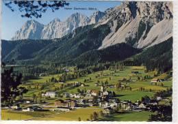 RAMSAU / Dachstein - Panorama Gegen Die Dachsteingruppe - Ramsau Am Dachstein