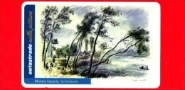 VIACARD -  Serie Autostrade Nella Pittura - Michele Cascella - Sul Volturno -  Tessera N. 872 - 100.000 - Pub - 10.2000 - Italie