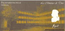 Bloc La Clélemce De Titus Mozart 2006 - Blocs Souvenir