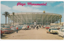 Outside View of Plaza Monumental, TIJUANA, Baja California, Mexico, 40-60's