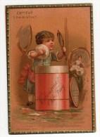 Chromo Imp. Testu & Massin, Article De Toilette, Fay - Trade Cards