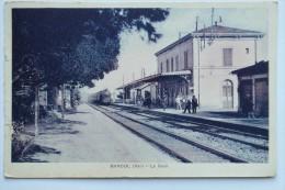 CPA Bandol Var La Gare - Animé Train 1938 - FA01 - Bandol