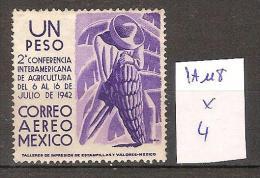 Mexique PA 118 * Côte 4 € - Mexique