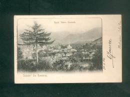 Roumanie - Salutari Din Romania - Rucar - Vedere Generala  ( Voyagé En 1904) - Roumanie