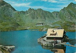 Judetul Sibiu, Romania Postcard Used Posted To UK 1987 Stamp - Romania