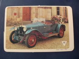 Austin Racer 1935 Portuguese Pocket Calendar 1988 - Calendriers