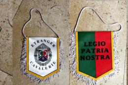 FANION:: 1° Rgt Etranger De Cavalerie - Equipement