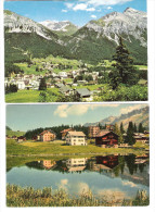 Schweiz - 2 Cards - Lenzerheide - GR Graubünden