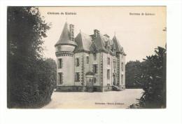 1614 Dep 29  Quimper  Chateau De Kistinic - Quimper