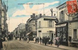 Enghien Les Bains - La Grande Rue - Chirurgien - Le Tabac - Hôtel - Belle Animation - Enghien Les Bains