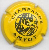 CAPSULE-CHAMPAGNE AMYOT N°02 Jaune & Noir - Sonstige