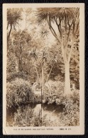 AUSTRALIA - POOL GARDENS BALLARAT - VICTORIA -- 1925 REAL OLD PHOTOCARD SEND FROM AVOCA To BELGIUM - Ballarat