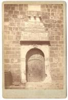 017 - Photo Collée Sur Carton Représentant La Porte Au Phare à Alger - Photo Geiser à Alger - Orte