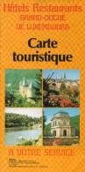 Hôtels Restaurants Grand-Duché De Luxembourg Carte Touristique - Altri