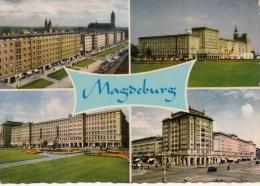 P4386 Magdeburg Bauten Des Sazialismus  Germany  Front/back Image - Magdeburg