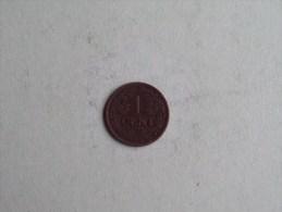 1916 - 1 Cent / KM 152 ( Uncleaned - For Grade, Please See Photo ) ! - [ 3] 1815-…: Königreich Der Niederlande