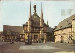 P4644 Weringerode Gartz Rathaus Und Hotel Gostisces Germany   Front/back Image - Gartz