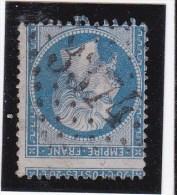 GC  3374    SENLIS   ( 58 )  OISE  - REF 1137  Sans Légende Inf. Suite à Beau Piquage - Marcophily (detached Stamps)