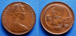AUSTRALIA  1 Cent 1974  RING-TAILED OPOSSUM - Cent