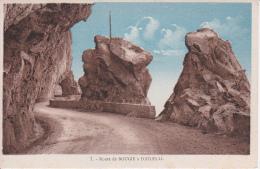 CPA Route De Bougie à Djidjelli (3194) - Algerien