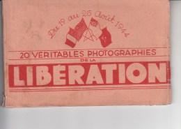 PARIS - Carnet De 20 CPSM N&B Neuves -Vue De La Libération De Paris - Voir Description - RY - France