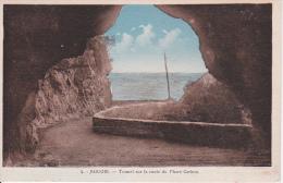 CPA Bougie - Tunnel Sur La Route Du Phare Carbon (3197) - Algerien