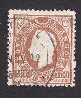 Angola, Scott #22, Used, King Luiz, Issued 1886 - Angola