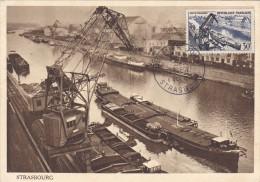 Strasbourg 1956 - Carte Maximum - Maximumkarten