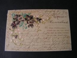 == Hammelbach Fürth  Blumen Gruss Aus .. 1902  Darmstadt - Künstlerkarten