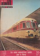 La Vie Du Rail N° 582 Les Rames Rapides Pour Le Maroc St Catherine Vallée De La Roya - Trenes