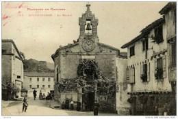 81-ROQUECOURBE-La Mairie-animée-Pionnière Dos 1900 Non Divisé - Roquecourbe