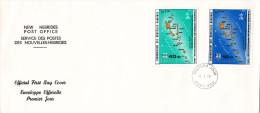 Port-Vila 1979 - FDC Premier Gouvernement Autonome - Nouvelles-Hébrides - FDC