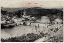 81-ROQUECOURBE-Le Pont Sur L´Agout- - Roquecourbe