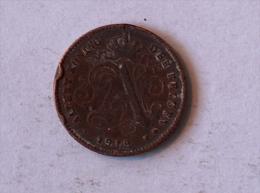 Belgique 1 Cent 1912 Centime - 1909-1934: Albert I