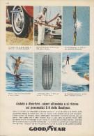# GOODYEAR G8 1970s Car Tires Italy Advert Pub Publicitè Reklame Pneumatici Pneus Reifen Neumaticos - Transportation