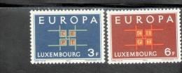 CEPT Ornament Luxemburg 680 - 681 ** Postfrisch MNH - Europa-CEPT