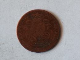 Belgique 2 Cents 1856 Centimes - 1831-1865: Léopold I