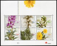 MADEIRA. 2000 PLANTS OF LAURISSILVA FOREST SHEET MNH. - Madeira